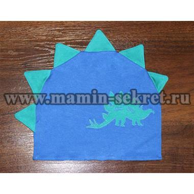 Трикотажная аппликация на ткани