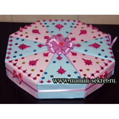 Бонбоньерка торт - красивая упаковка подарков