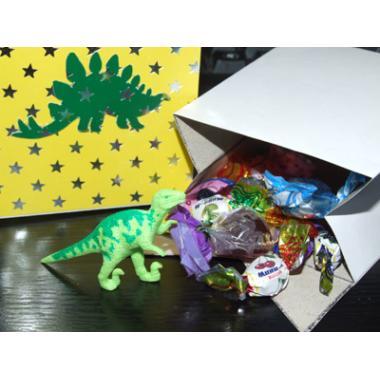 Бонбоньерка с динозавром своими руками