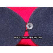 Как сделать петельку для одежды из ниток