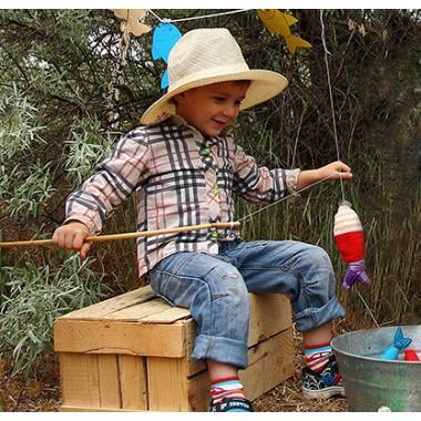 """Детская игра """"Рыбалка"""" + шаблоны рыб"""