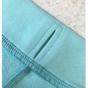 Аккуратная обработка отверстия для резинки