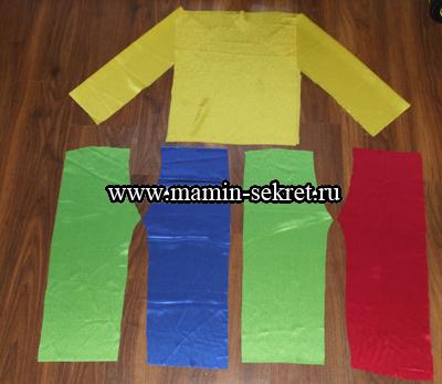 Как сшить костюм Петрушки (гнома) для ребёнка