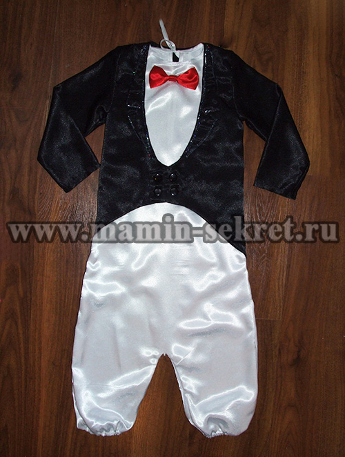 как сшить костюм пингвина для ребёнка
