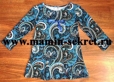 Как сшить детское платье без выкройки