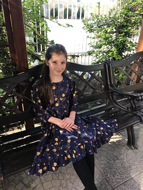 Детское бохо-платье своими руками шьём бесплатно