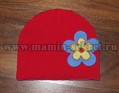 комплект шапка и снуд для ребёнка