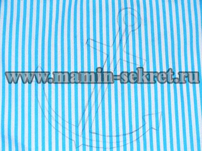 Как сделать аппликацию шнуром на ткани